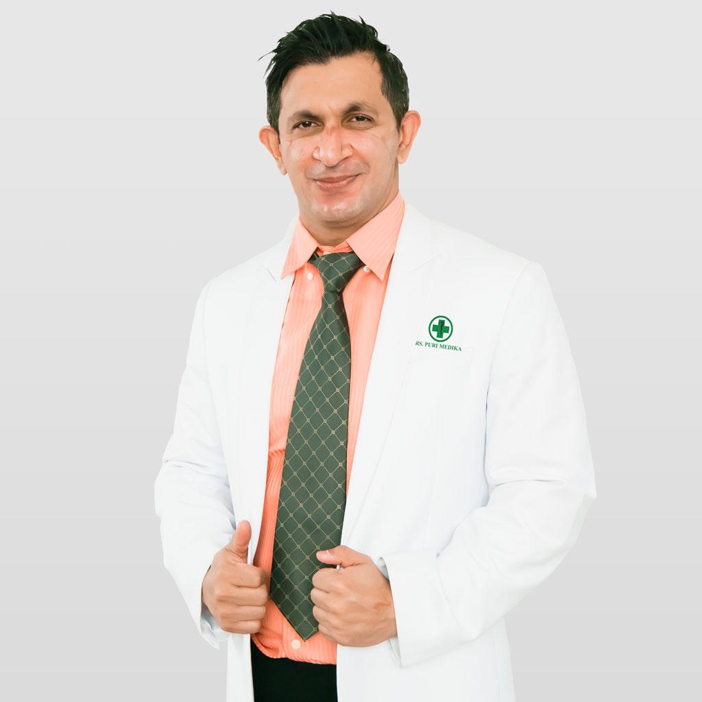 Dr. Bobby Singh, Sp.P, M.Kes, FAPSR